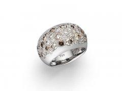 Diamanten, 750/000 Weißgold